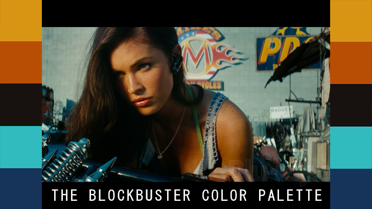 BLOCKBUSTER COLOR GRADING PALETTE
