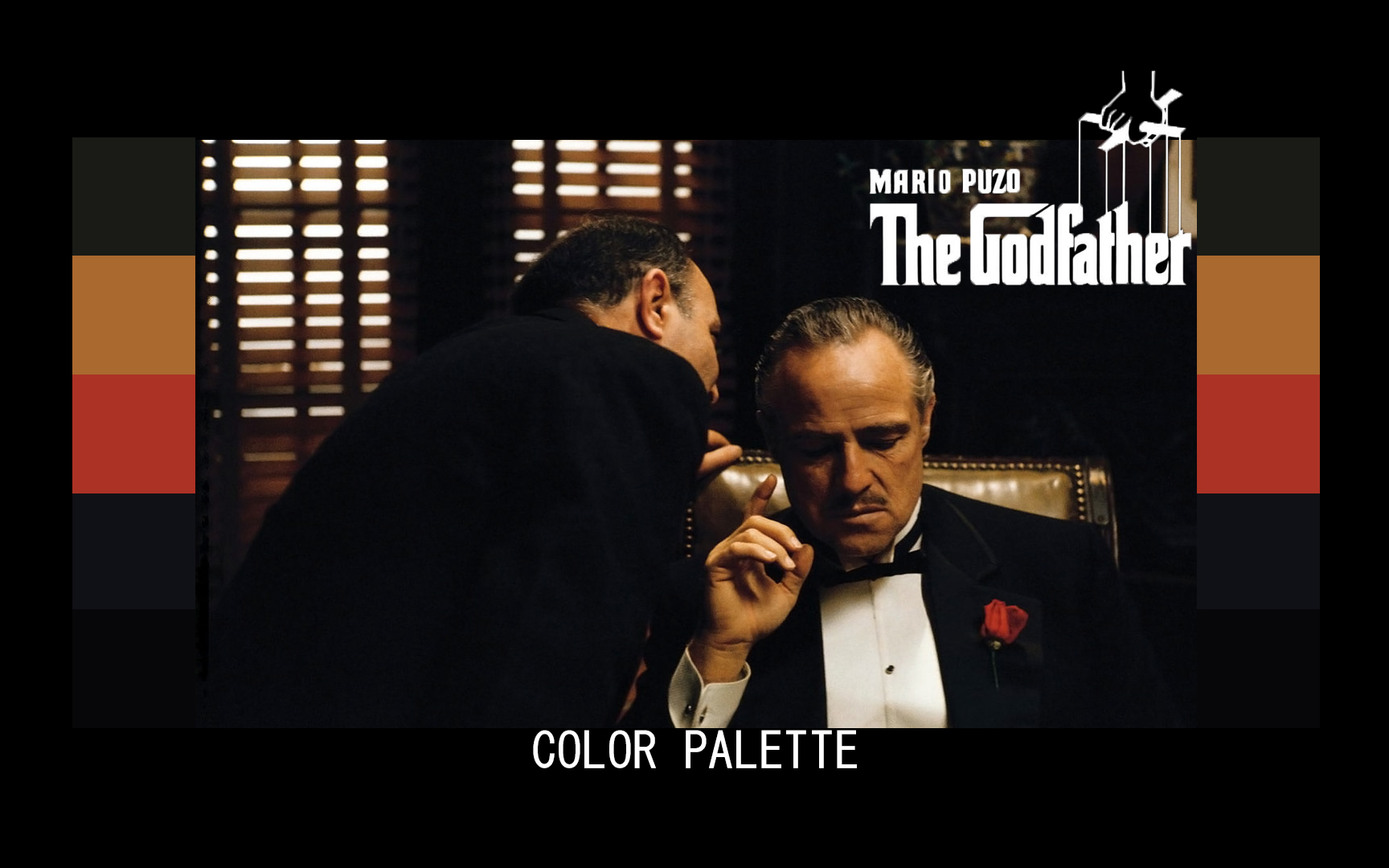 GODFATHER 1 COLOR GRADING PALETTE