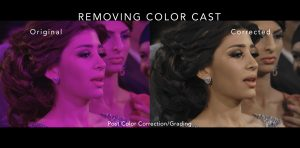 REMOVING COLOR CASTS!